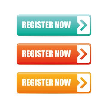 Register now design.