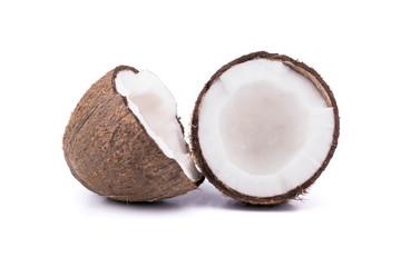 Two halves coconut