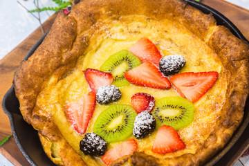 Hawaiian Oven Pancake