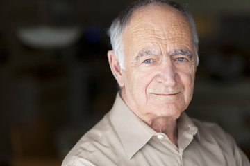 Portrait of Elderly Man Smiling At The Camera