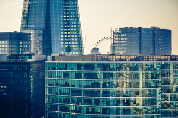 Buildings of London city