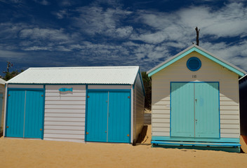 Sea style bathing boxes