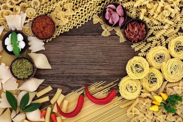 Pasta Food Ingredients