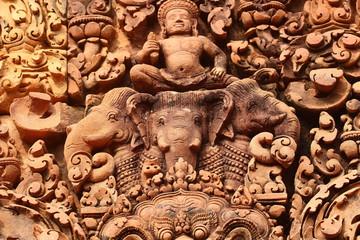 Bassorilievo tempio Banteay Srei