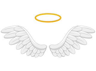 angel wings cartoon