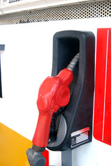 Red fuel pump image