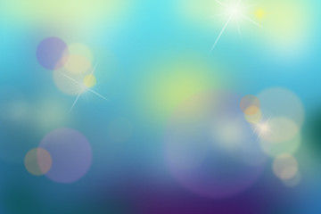 Colorful blurred background.