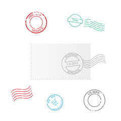 Stamps Illustration
