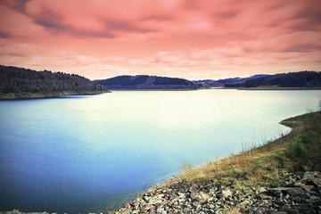 See an einer Talsperre