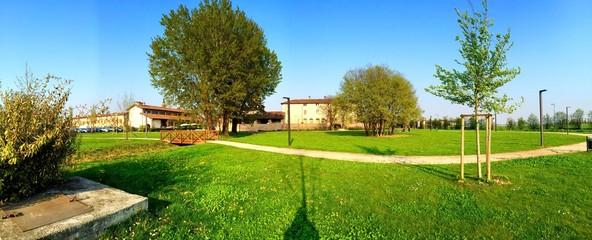 Fototapeta landscape pagazzano