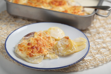 Potatoes a la dauphinoise