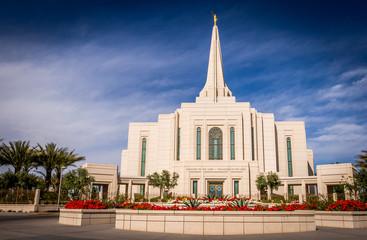 Mormon Temple in Gilbert Arizona Wall mural