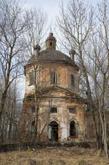 Старинная церковь Климента, папы Римского. Ленинградская область