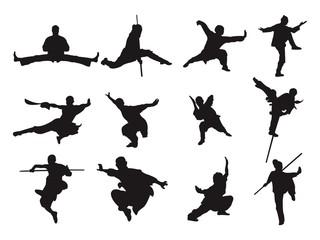 Kung Fu - Silhouette