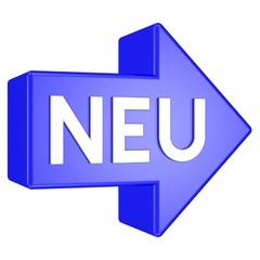 Neu - Pfeil
