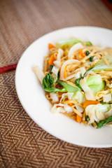 Cambodian stir fried noodles