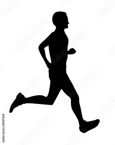 マラソンシルエットイラストfotoliacom の ストック写真と
