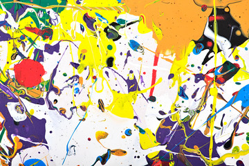 abstract vivid painting