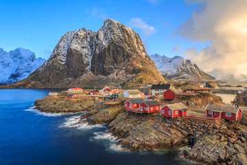 Foto auf AluDibond Bestsellers fishing villages in norway