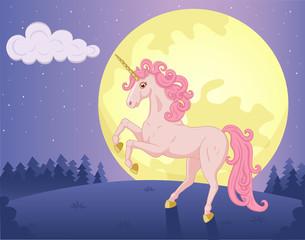 Moon and Unicorn