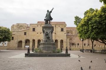 Columbus sq in caribbean Sto Domingo Dominican Rep