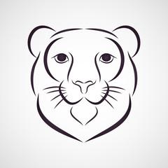 Snow Leopard logo vector
