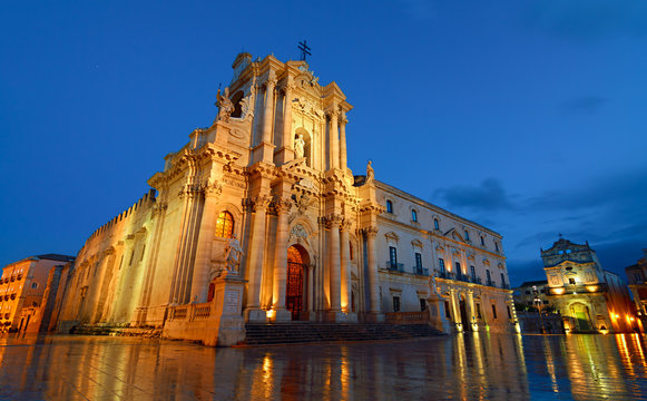 The cathedral of Syracuse - Unesco World Heritage