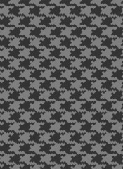 Houndstooth seamless vector pattern