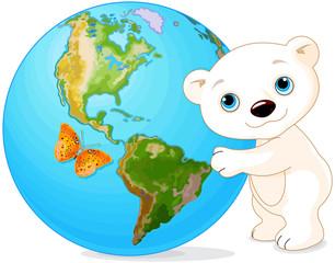 Polar Bear Earth Day