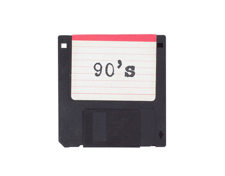 Floppy disk, data storage support