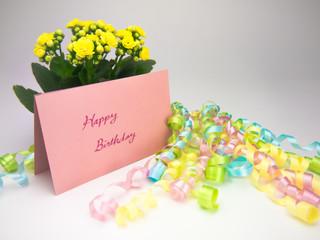 Massage Card; Happy Birthday