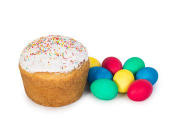 Easter eggs, Easter cake