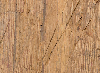 wooden background with cuts