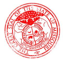 Missouri Seal Stamp