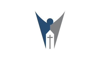 Abstract Church Logo