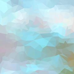 Abstract bright polygonal triangular geometric background