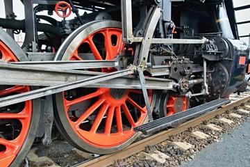 Steam locomotive chassis