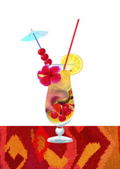 Exotic coctail