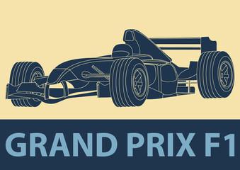 Voiture de course Formule 1