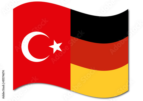 deutsch t rkische flagge stockfotos und lizenzfreie vektoren auf bild 81574674. Black Bedroom Furniture Sets. Home Design Ideas
