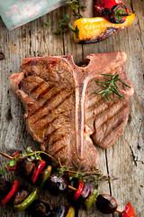 T-bone Steak gegrillt