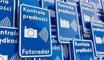 Znaki fotoradar