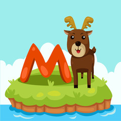 Illustrator of Letter 'M is for Moose'