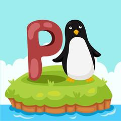 Illustrator of Letter 'P is for Penguin'