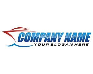 ship sail logo image vector