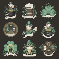 Set of pictures for St. Patrick's Day.