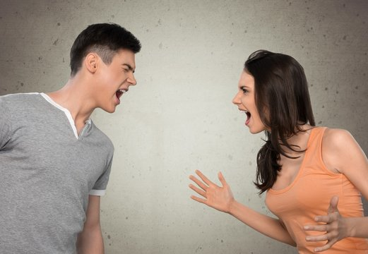 Arguing. ...AND for worse