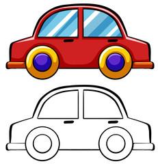 Doodles car
