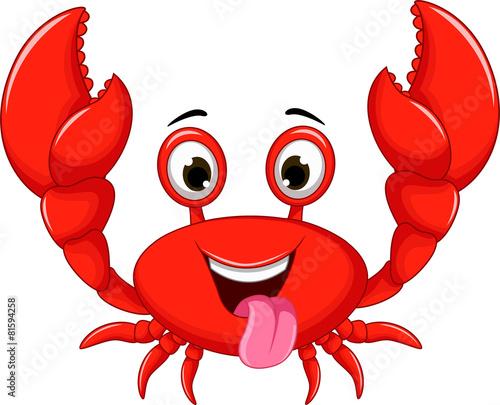 quot funny cartoon crab quot  stock image and royalty free vector crap clipart crab clip art free