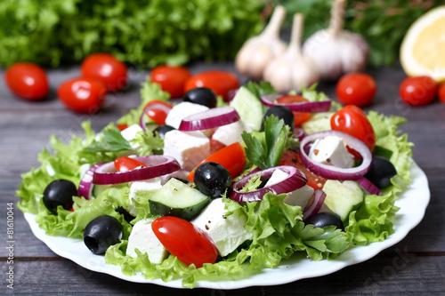 кулинария греческий салат фото